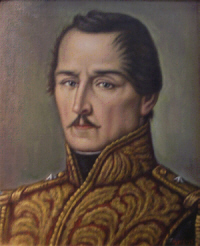 El general Francisco de Paula Santander